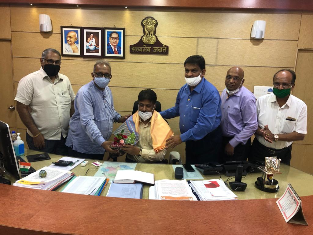 Welcoming of New Deputy Commissioner of Belgaum